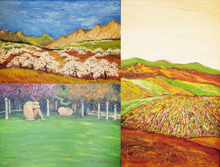 wang zhongjun's paintings